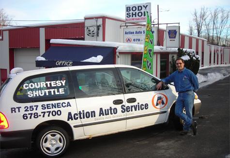Action Auto Van with Bill Kapp
